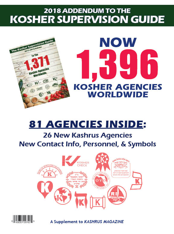 Kashrus Magazine Online The Guide For The Kosher Consumer