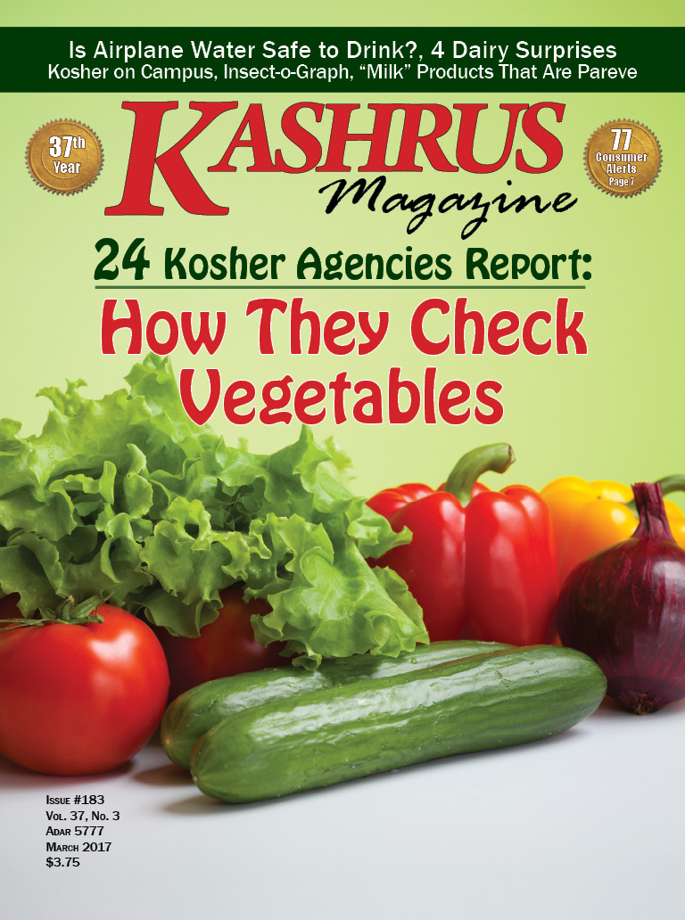 Kashrus magazine online the guide for the kosher consumer 24 kashrus agencies report how they check vegetables buycottarizona Choice Image